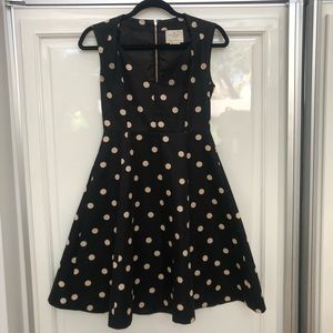 Kate Spade Polka Dot Dress with Garment Bag